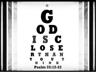 God Is Closer - Eye Exam